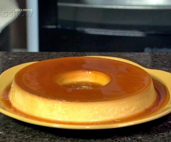 Flan ou Pudim? Você sabe a diferença entre os dois doces? (Foto: TV Globo)