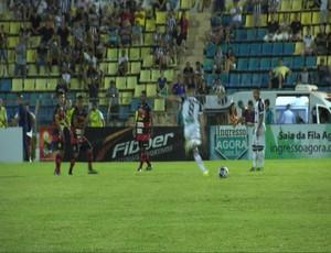 Guarani de Juazeiro x Ceará Campeonato Cearense Romeirão (Foto: Reprodução/TV Verdes Mares)