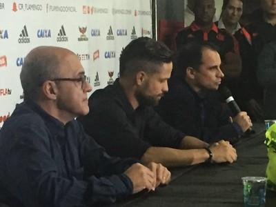 Apresentação Diego Flamengo (Foto: Richard Souza)