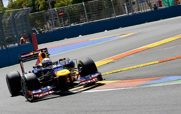 Vettel mercedes gp da europa (Foto: Agência Reuters)