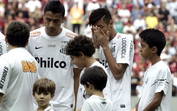 Neymar Santos x Flamengo (Foto: Jorge William / Agência O Globo)