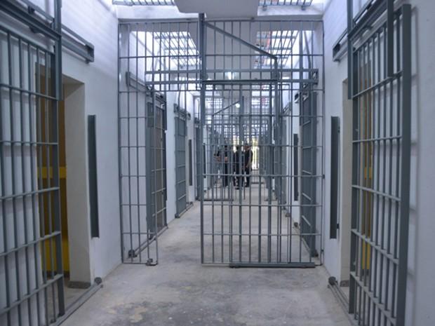Presídio possui dois blocos, cada um com 20 celas coletivas com capacidade para até oito presos (Foto: Clayton Monteles / Secom)