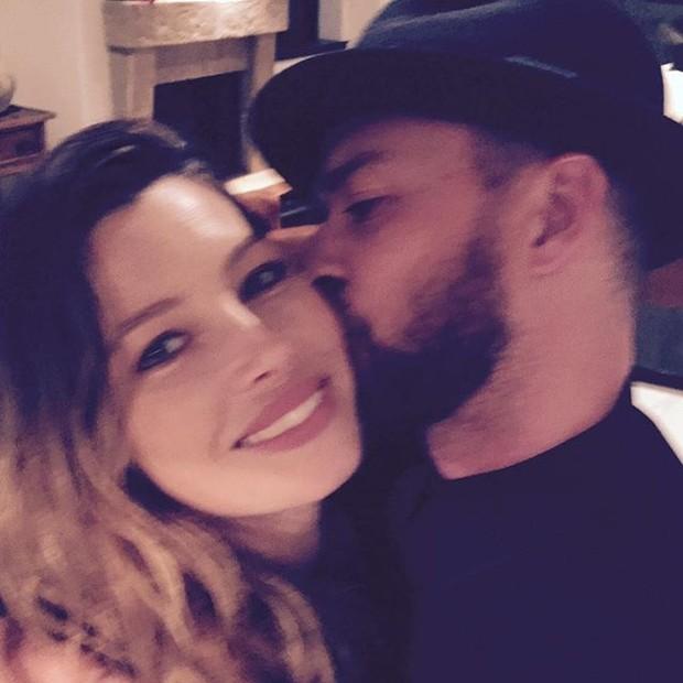 Jessica Biel e Justin Timberlake (Foto: Instagram/ Reprodução)
