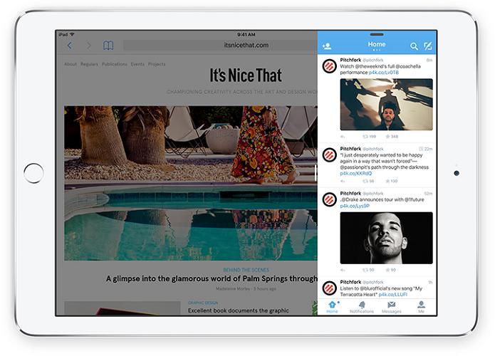 iPad ganhou novas funções com o iOS 9 (Foto: Divulgação)
