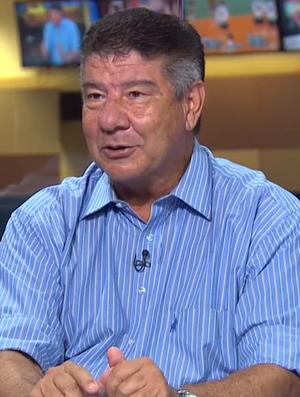 Joel Santana, técnico; Redação SporTV (Foto: Reprodução SporTV)