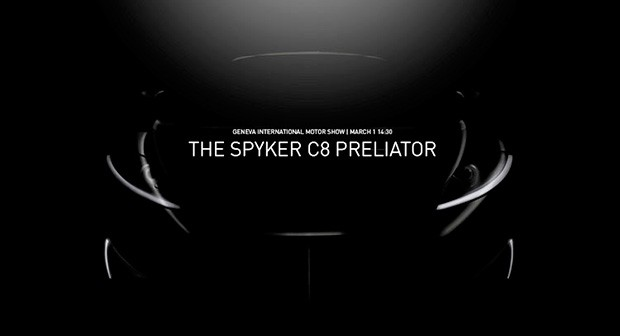 Spyker C8 Preliator (Foto: Spyker)