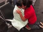 Mulher que entrou ilegalmente nos EUA consegue se unir ao filho