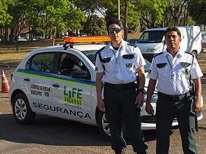 Vigilantes da Universidade de Brasília (Foto: Isa Lima/UnB Agência)