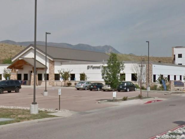 Fachada da Planned Parenthood de Colorado Srings em agosto de 2015 (Foto: Reprodução/Google Street View)