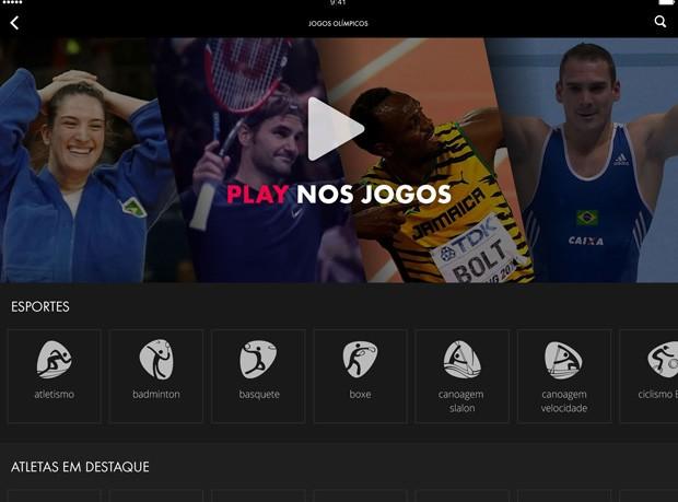 Globo 'Play nos Jogos' (Foto: Divulgação)