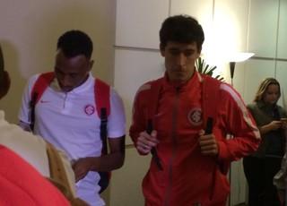 Rodrigo Dourado Eduardo Henrique Inter (Foto: Fernando Becker / RBS TV)