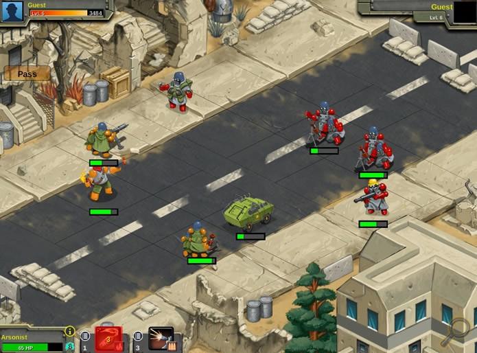 Os confrontos online de Battle Nations colocam os jogadores em partidas equilibradas e bem disputadas (Foto: Reprodução/Daniel Ribeiro)