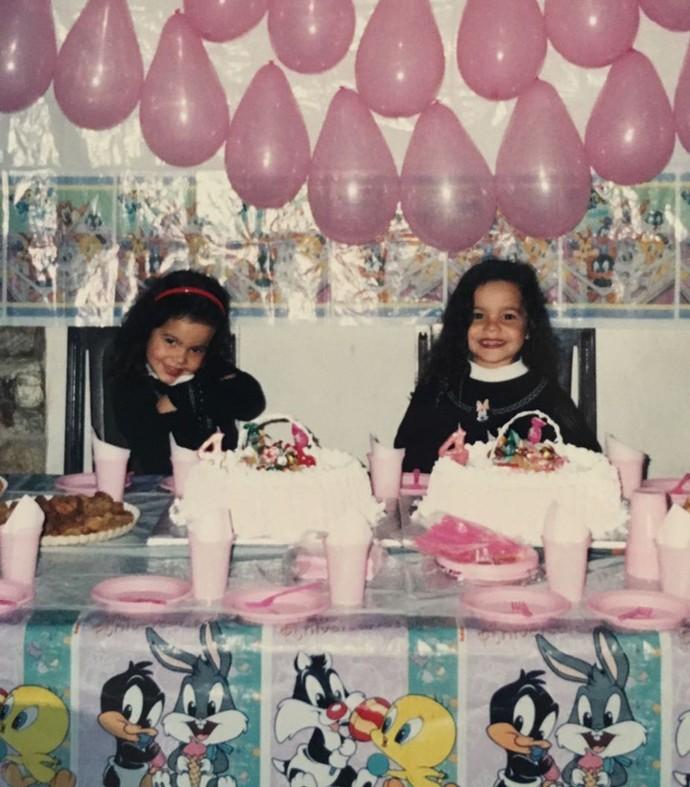 Aniversário das bebês gêmeas: Emilly e Mayla! <3 (Foto: Arquivo Pessoal)