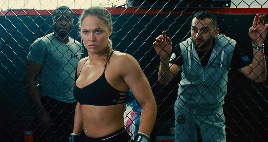 Ronda Rousey em trailer de 'Entourage - Fama e Amizade'  (Foto: Reprodução)