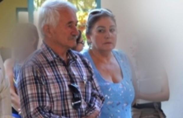 Prefeito de Aporé, Goiás, Hailton Gomes da Pena, e primeira Maria Zelinda Buranello da Pena foram presos (Foto: Reprodução/TV Anhanguera)