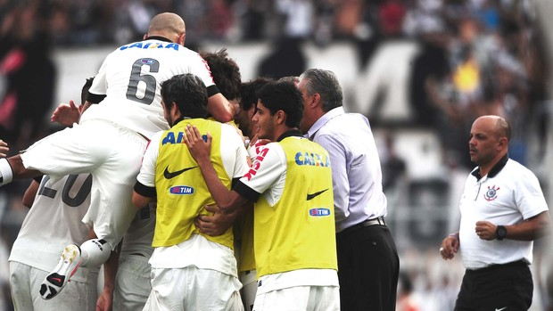 Corinthians x Ponte Preta (Foto: Marcos Ribolli / Globoesporte.com)