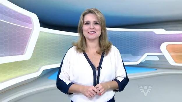 Vanessa Faro no programa Corpo em Ação (Foto: Reprodução/TV Tribuna)