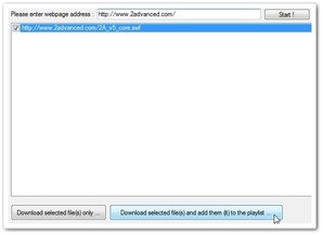 Flash manager download