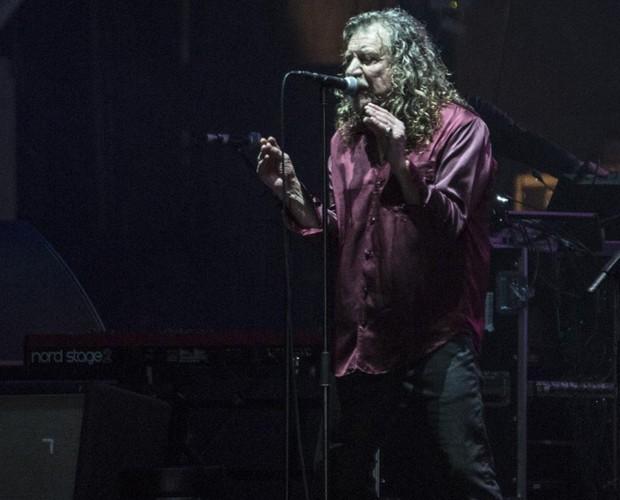 Robert Plant em show no Lolla (Foto: Felipe Monteiro/Gshow)