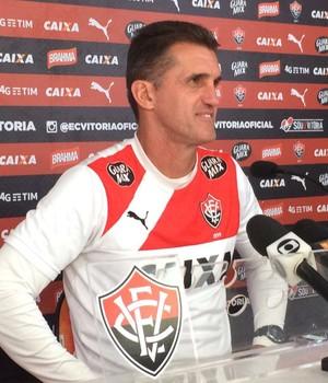 Vagner Mancini técnico do Vitória (Foto: GloboEsporte.com)