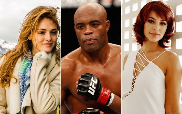 Vêm aí em 2015 a novela das seis Sete Vidas, Anderson Silva no The Ultimate Fighter e a minissérie Felizes para Sempre (Foto: Globo e Getty Images)