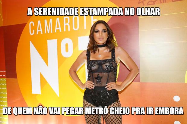 Memes do Desfile das Campeãs (Foto: Divulgação/CamaroteN1)