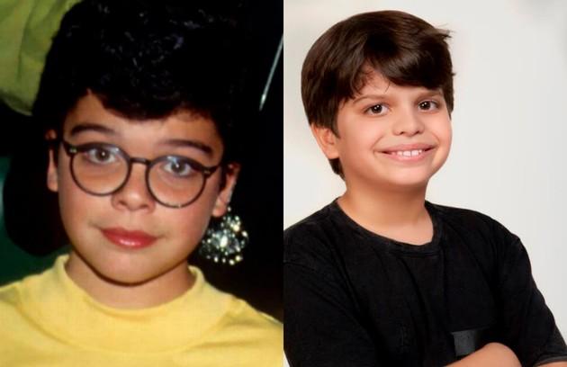 Rafa Mezadri (foto) e Daniel Brasil vão reviver Sig, personagem de João Rebello na novela, o filho caçula de Carmem (Joana Fomm) (Foto: Divulgação e reprodução)
