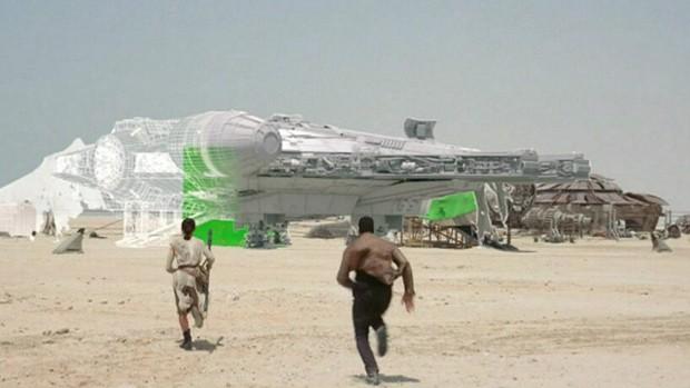 Efeitos de 'Star Wars: O despertar da força' (Foto: Cortesia Disney/Lucasfilm e Industrial Light & Magic)
