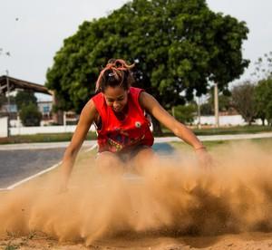 Atletismo Mato Grosso (Foto: Junior Martins/FAMT)