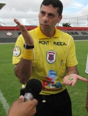 Árbitro George Alves Feitoza (Foto: Ascom Federação Alagoana de Futebol)