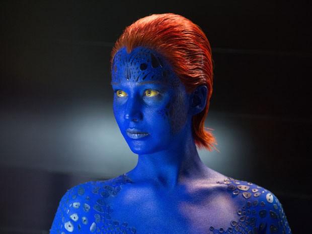 Jennifer Lawrence em cena de 'X-Men: Dias de um futuro esquecido' (Foto: Divulgação)