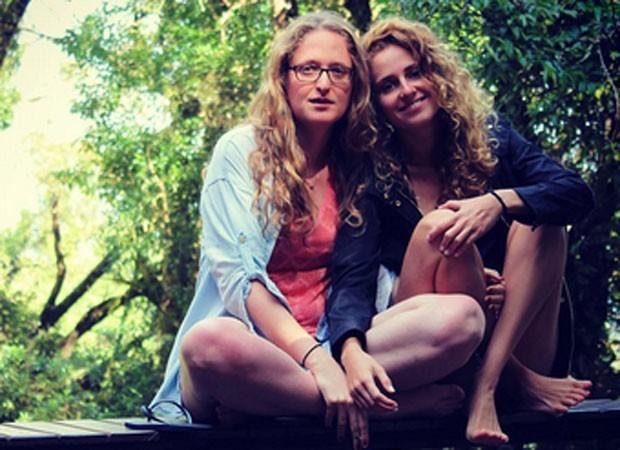 Aline Klein e Carol Duarte (Foto: Reprodução)