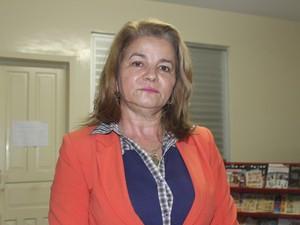 Juíza Maria Luiza de Moura Melo Freitas (Foto: Catarina Costa/G1)