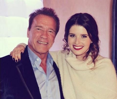 Arnold e Katherine Schwarzenegger (Foto: Instagram)