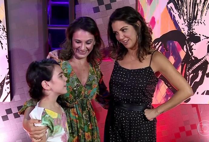 Internautas comentaram reações de Thalita Rebouças nas redes (Foto: TV Globo)