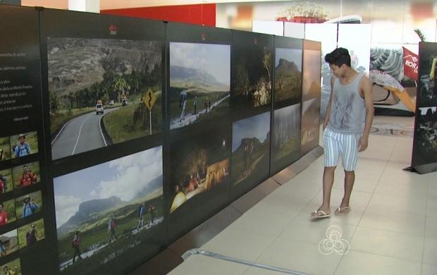 Monte Roraima é tema de exposição em Boa Vista (Foto: Bom Dia Amazônia)