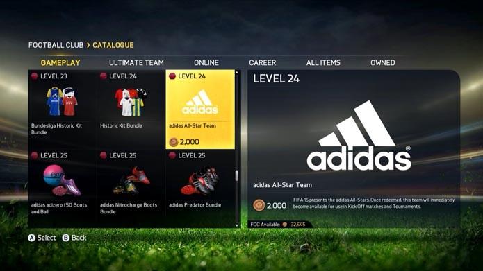 Procure o time da Adidas (Foto: Reprodução/Murilo Molina)
