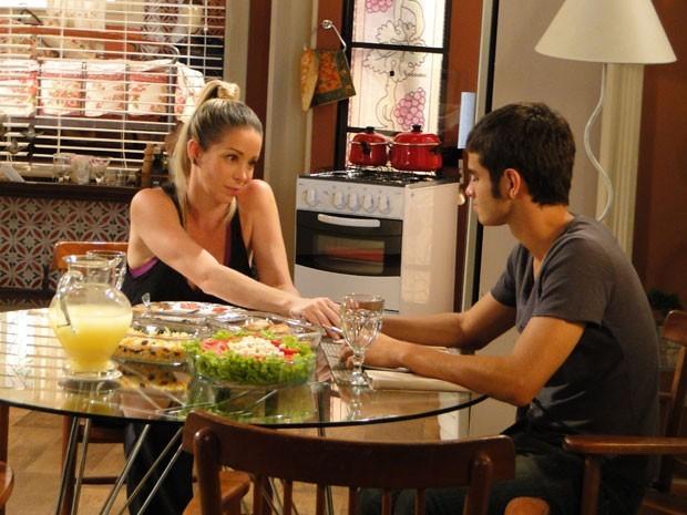 O Gil vai sofrer muito com a morte da mãe e vai querer vingança (Foto: Malhação / Tv Globo)