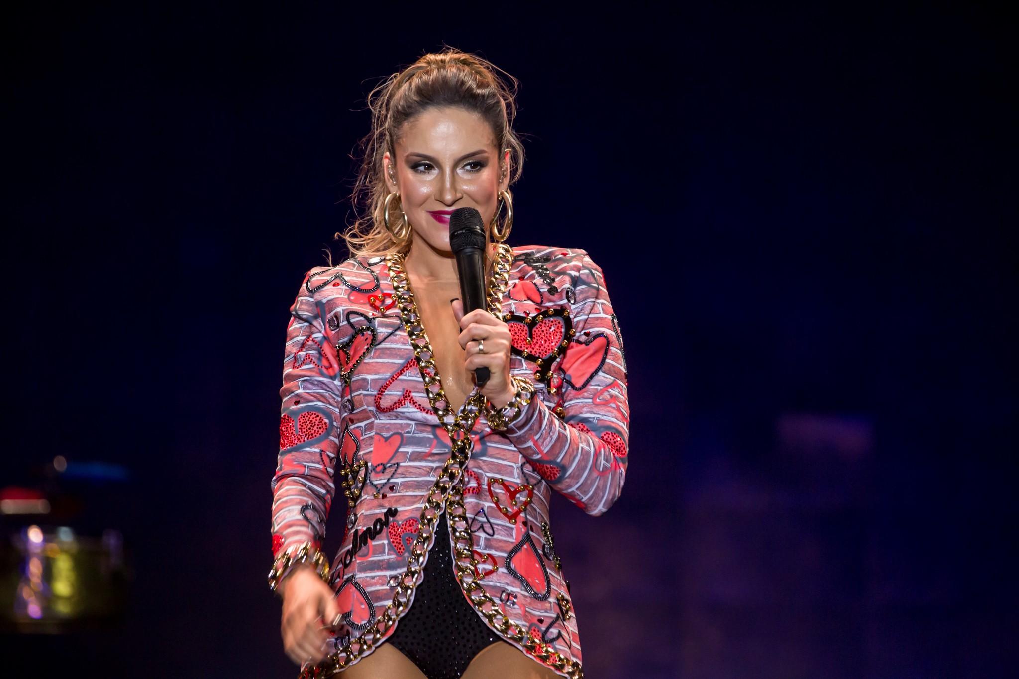 Claudia Leitte escolheu os shows que rolam no Bis Play em janeiro (Foto: Divulgao/Multishow)