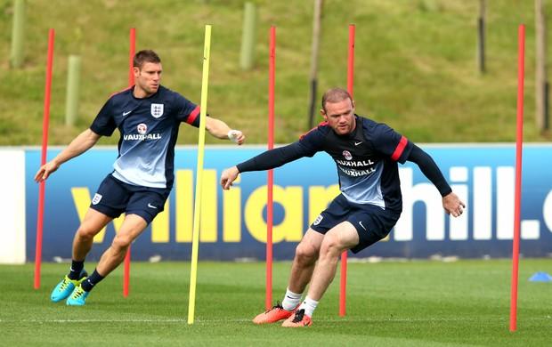 Wayne Rooney treino Inglaterra (Foto: Getty Images)