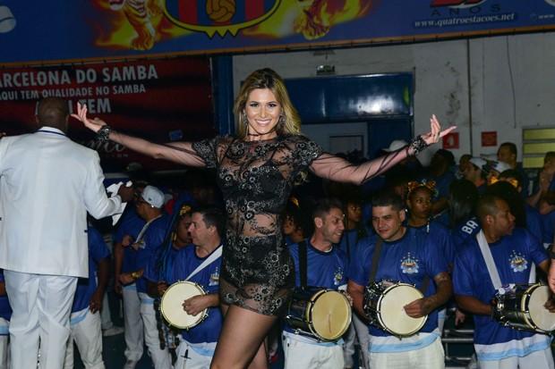 Livia Andrade na Império da Casa da Verde (Foto: Leo Franco/AgNews)