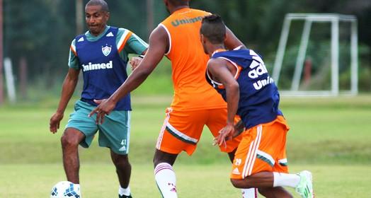 professor em ação (Nelson Perez / Fluminense FC)
