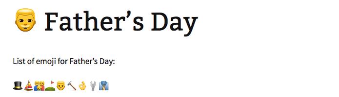 Homem representa o dia dos pais (Foto: Reprodução/Melissa Cruz)