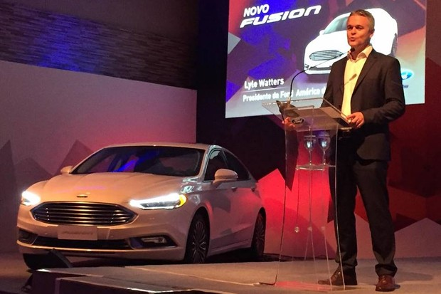 Lyle Watters, presidente da Ford para o Brasil e América do Sul (Foto: Michelle Ferreira / Autoesporte)