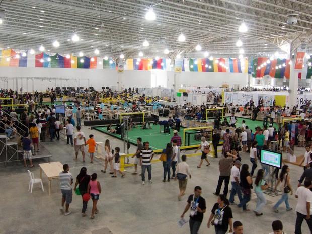 RoboCup 2014 acontece no Centro de Convenções de João Pessoa (Foto: Valdecir Becker/RoboCup/UFPB)