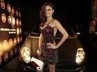 Nanda Costa marca presença na festa de aniversário da 'Playboy'