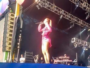 Ivete Sangalo no Salvador Fest, Bahia (Foto: Ramon Ferraz/ TV Bahia)