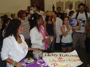 estudantes ufba (Foto: Jairo Gonçalves/G1)
