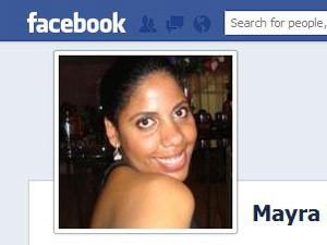 Perfil de Mayra Monteiro em rede social (Foto: reprodução/ internet)