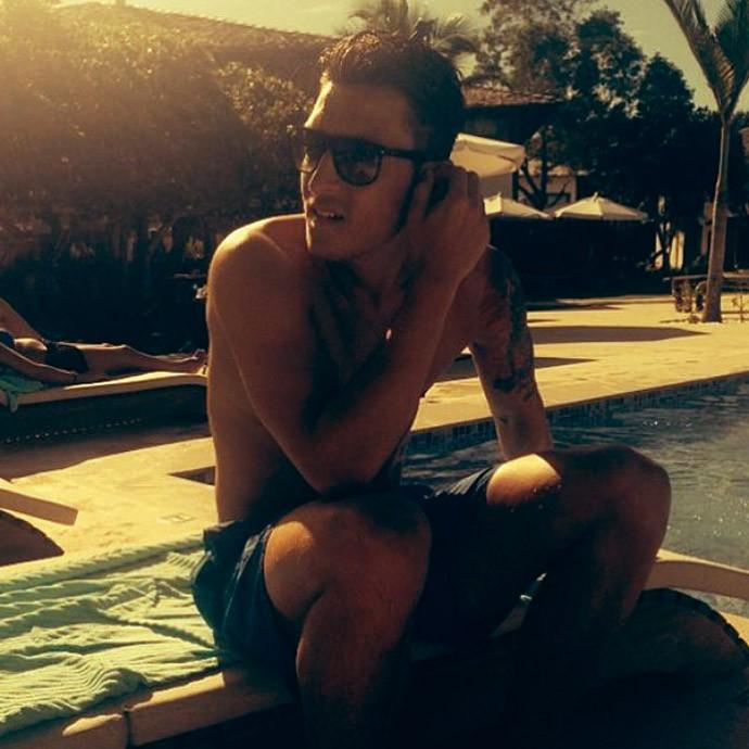 Ozil alemanha férias (Foto: Reprodução / Instagram)